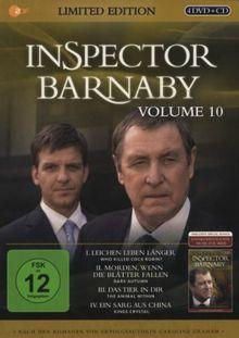 Inspector Barnaby Vol. 10 (Limited Edition im Geschenk-Schuber) [4 DVDs]   DVD   état très bon