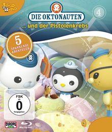 Die Oktonauten 4: ...und der Pistolenkrebs [Blu-ray] de O'Connell, Darragh   DVD   état neuf