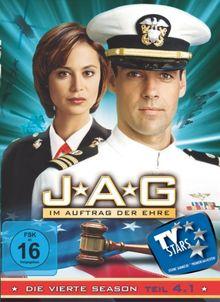JAG: Im Auftrag der Ehre - Season 4.1 [3 DVDs] de Donald P. Bellisario, Joe Napolitano   DVD   état bon