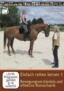 Einfach reiten lernen 1: Bewegungsverständnis und effektive Biomechanik [2 DVDs] | DVD | Zustand gut