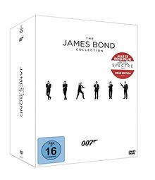 Bond DVD Collection inkl. Leerplatz für Spectre (23 Discs)