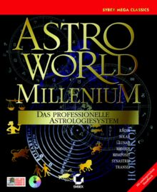 Astroworld Millennium. CD- ROM für Windows 95/98/ NT. Das professionelle Astrologiesystem