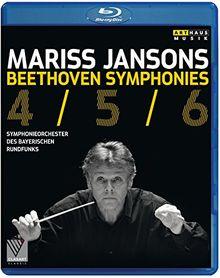 Mariss Jansons: Beethoven Symphonies 4, 5 & 6 [Blu-ray]