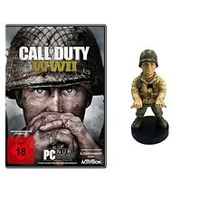 Call of Duty: WWII - Standard Edition - [PC] + WWII Officer Muddy Guy Figur