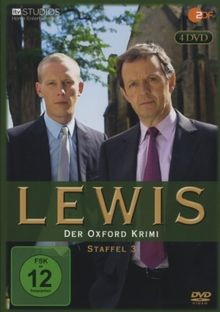 Lewis - Der Oxford Krimi: Staffel 3 [4 DVDs]