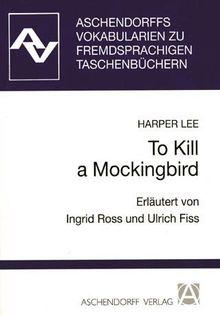 To Kill a Mockingbird. Vokabularien