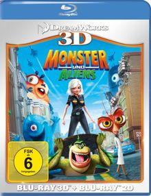 Monster und Aliens (+ Blu-ray) [Blu-ray 3D]
