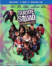 Suicide squad 4k ultra hd [Blu-ray] [FR Import]