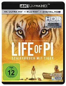 Life of Pi - Schiffbruch mit Tiger (+ 4K Ultra HD-Bluray) [Blu-ray]