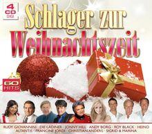 Schlager zur Weihnachtszeit (60 Weihnachtslieder auf 4 CDs - Semino Rossi, Die Paldauer, Andy Borg, Roy Black, Heino, Francine Jordi, Christian Anders uva.)
