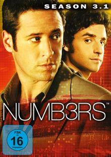 Numb3rs - Season 3, Vol. 1 [3 DVDs]