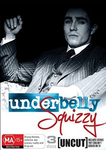 Underbelly ~ Squizzy Complete 6th Season (3DVD) (PAL) (REGION 4) {IMPORT}