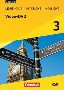 English G Lighthouse / English G Headlight / English G Highlight - Allgemeine Ausgabe, Bd.3 : 7. Schuljahr, Video-DVD