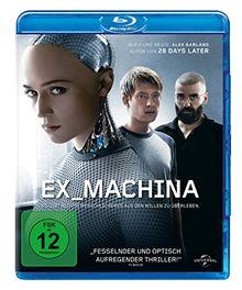 Ex Machina (inkl. Digital Ultraviolet) [Blu-ray]