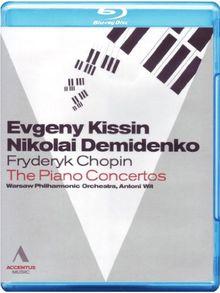 CHOPIN: The Piano Concertos (BD) [Blu-ray]