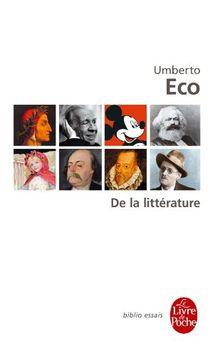 De la littérature (Ldp Bib.Essais)