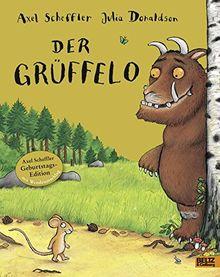 Der Grüffelo: Vierfarbiges Bilderbuch mit Wendeumschlag