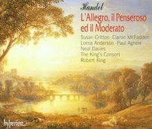 Georg Friedrich Händel: L'allegro, Il Penseroso und il Mode