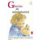 Géants et miniatures