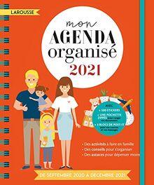 Mon agenda organisé 2021 (Calendrier - Famille (31263))