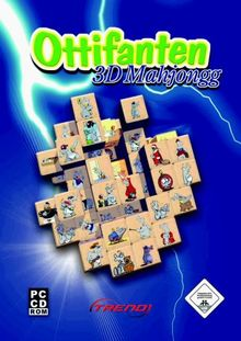 Ottifanten 3D-Mahjongg - Metallbox