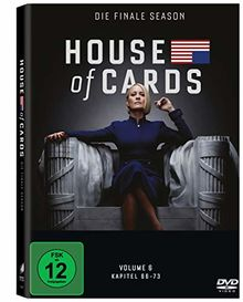 House of Cards - Die komplette sechste Season (3 Discs)