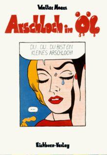 Arschloch in Öl