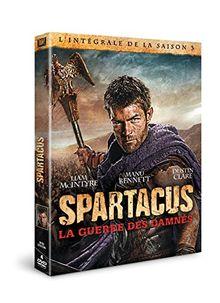 Coffret spartacus, saison 3 : la guerre des damnés