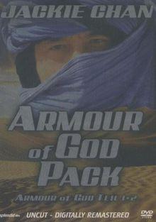 Armour of God Pack - Armour of God Teil 1+2 (Uncut Version) [2 DVDs]