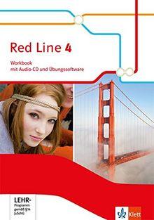 Red Line / Ausgabe 2014: Red Line / Workbook mit Audio-CD und Übungssoftware 8. Schuljahr: Ausgabe 2014