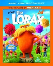 Dr Seuss' The Lorax [Blu-ray + DVD + UV Copy] [Region Free]