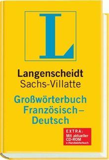 Langenscheidt Großwörterbuch Französisch-Deutsch