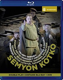 Prokofiev: Semyon Kotko (Mariinsky Orchestra and Chorus/Gergiev) [1 Blu-ray +1 DVD]