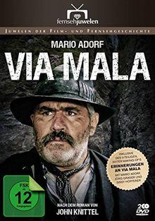 Via Mala (1-3) - Der Dreiteiler mit Mario Adorf plus Extras (Fernsehjuwelen) [2 DVDs]