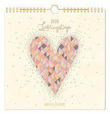 "Lieblingsstücke-Kalender 2020 ""Lieblingstage"": Wandkalender"