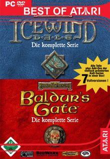 Baldur's Gate & Icewind Dale - Die komplette Serie [Best of Atari]