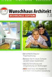 3D Wunschhaus Architekt 7.0 Wohnungsedition