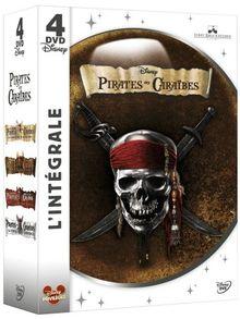 Coffret intégrale pirates des Caraïbes [FR Import]