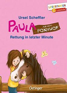 Paula auf dem Ponyhof: Rettung in letzter Minute