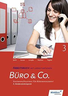 Büro & Co. nach Lernfeldern: Kaufmann/Kauffrau für Büromanagement, 3. Ausbildungsjahr - Lernfelder 9-13: Arbeitsbuch