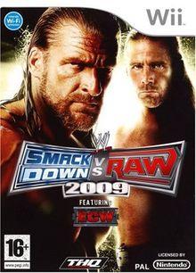 WWE Smackdown vs. Raw 2009 [FR Import]