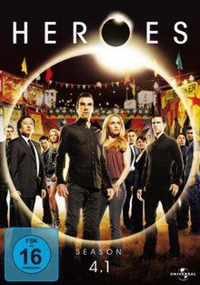Heroes - Season 4.1 [4 DVDs]
