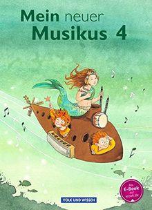 Mein neuer Musikus - Aktuelle Ausgabe: 4. Schuljahr - Schülerbuch
