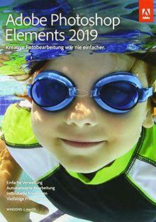 Adobe Photoshop Elements 2019 | Standard | PC/Mac | Disc