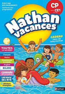 Nathan Vacances Du CP vers le CE1 6/7 ans