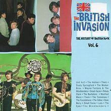 The British invasion - The history of British rock, Vol.6