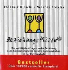 BeziehungsKiste. 32 Dialogkarten mit Begleitbuch: Die wichtigsten Fragen in der Beziehung. Eine Anleitung für eine bessere Kommunikation in der Partnerschaft