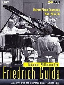Friedrich Gulda: Klavierkonzerte 20+26 (Münchner Klaviersommer 1986)