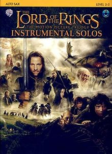 The Lord of the Rings, The Motion Picture Trilogy, w. Audio-CD, for Alto Saxophone