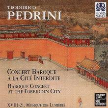 Concert Baroque a la Cite Interdite